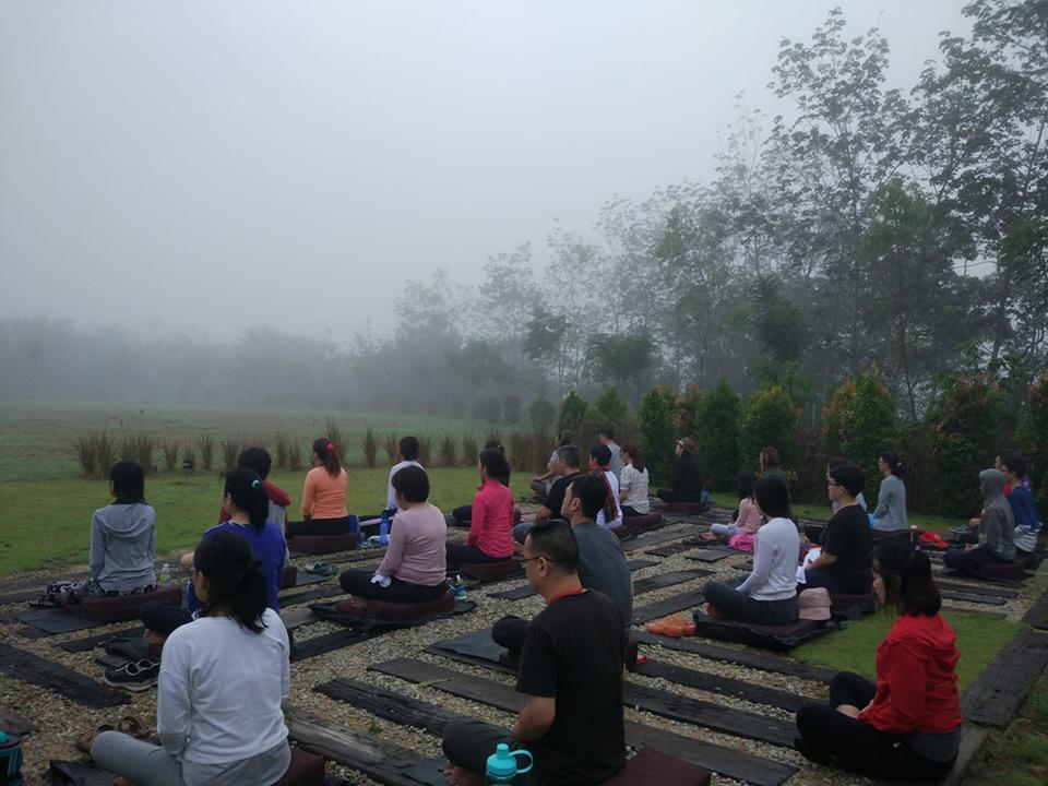 Sunrise meditation comes highly recommended at Kechara Forest Retreat. (Photo credit: Ph'ng Li Kheng)