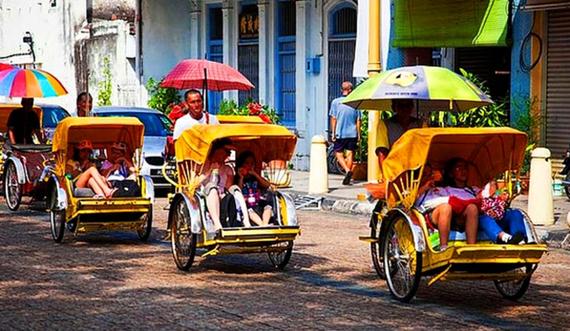 Trishaw rides are a novelty these days (Photo credit: travelbuddee.com)