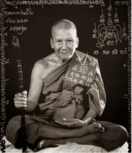Luong Phor Pern, the prominent sak yant master