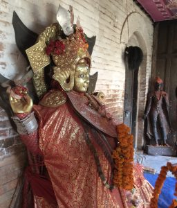 The Sankhu Vajrayogini in the upper temple