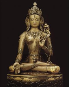 Stunning White Tara statue attributed to the great Mongolian artist Zanabazar