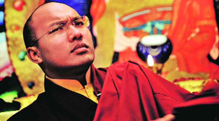 Karmapa Ogyen Trinley Dorje as recognised by Tai Situpa Rinpoche and the Chinese government