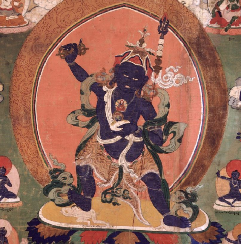 Padmasambhava in the form of Guru Pema Thotreng Tsel. In his writings, Zhabdrung Jigme Norbu praises both Padmasambhava and Dorje Shugden, and even requests Dorje Shugden to protect the doctrine of Padmasambhava.