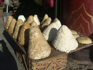 Traditional Tibetan cheese