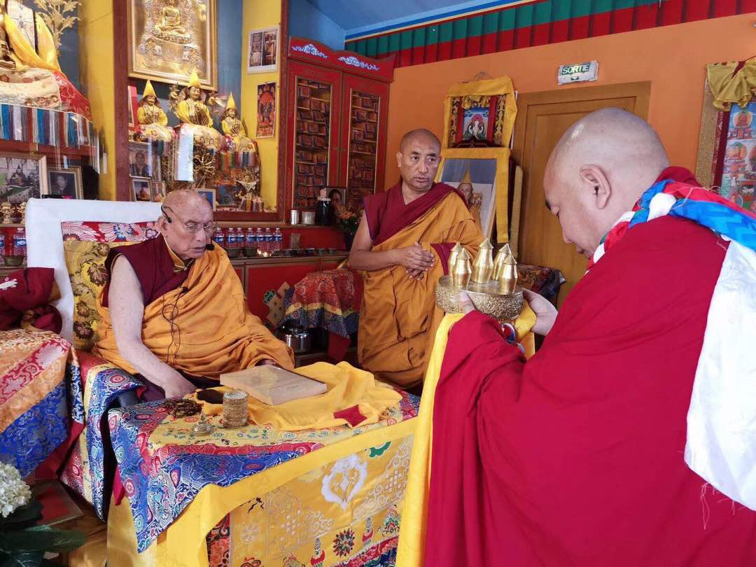 H H  the 101st Gaden Trisur Rinpoche's Vajrayogini Teachings