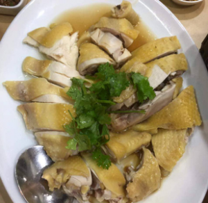 Boiled Chicken Guangxi Style