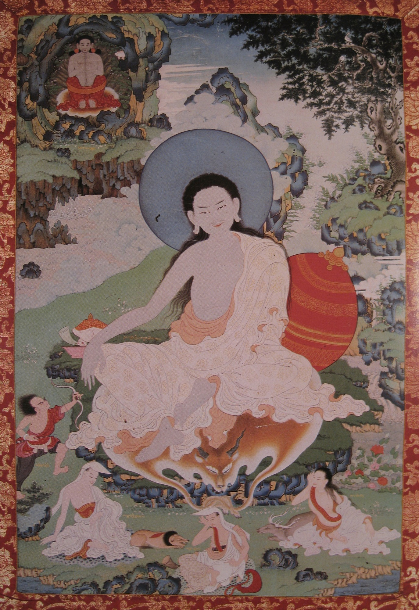 Milarepa. Image credit: himalayanart.org. Click on image to enlarge.