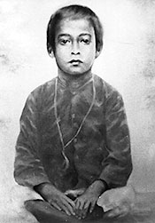 Yogananda when he was six years old