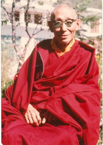 His Holiness Kyabje Trijang Rinpoche, the source of all blessings and inspiration