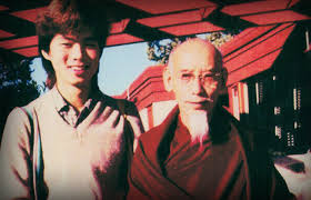 My root Guru, Kyabje Zong Rinpoche and I