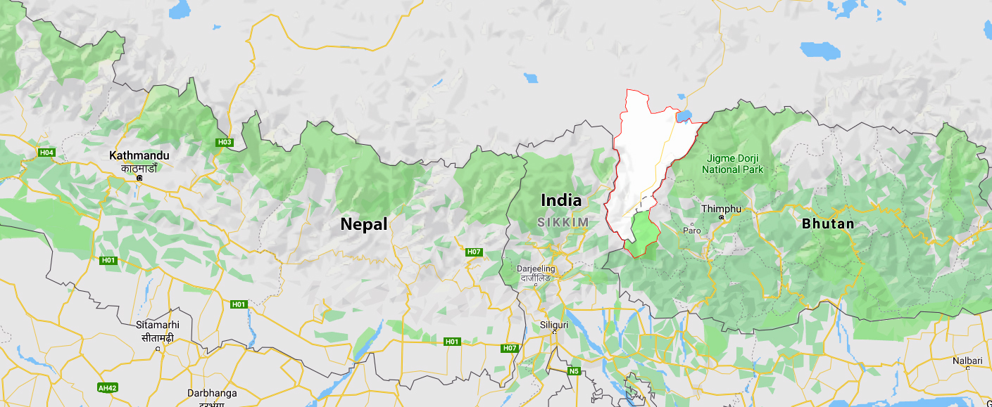 In 1951, the Dalai Lama was already in Dromo in the Yarlung Valley (highlighted area on the map). It is very close to Nepal, India and Bhutan, and the Dalai Lama could have easily escaped to safety from here. Yet, the Dalai Lama returned to danger and risk to Lhasa because of Nechung's advice.
