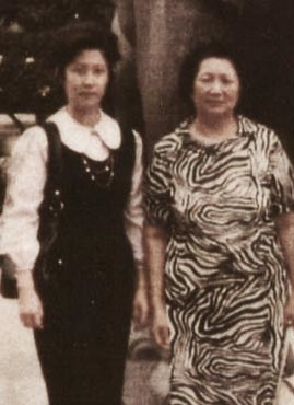 My mother and my grandmother.