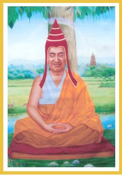 Master Shantideva the peaceful one