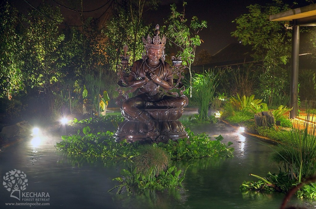Dream Manjushri at Kechara Forest Retreat