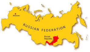 Buryatia within the Russian Federation