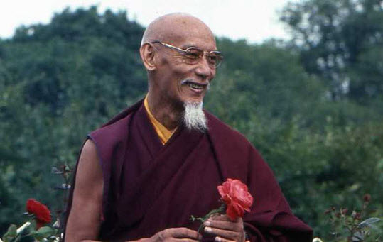My root guru, friend, spiritual father, refuge and inspiration, His Holiness Kyabje Zong Rinpoche.