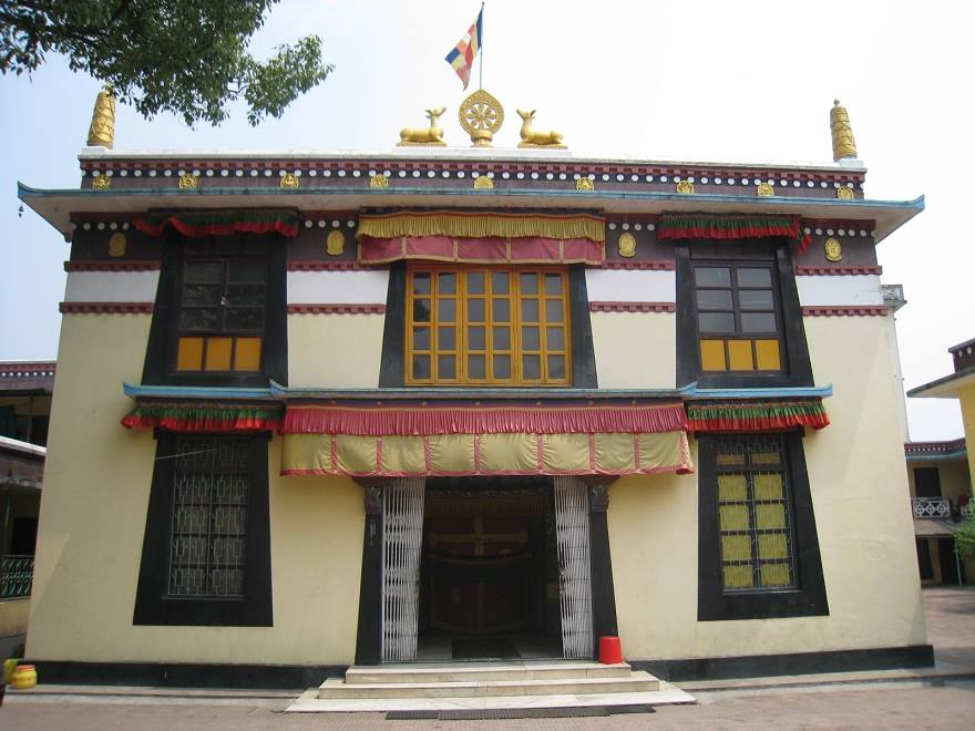 Phelgye Ling Monastery located in Kathmandu, Nepal. This monastery houses many important and sacred statues including a statue of Dorje Shugden made by His Holiness the Great 5th Dalai Lama and offered to the monastery.