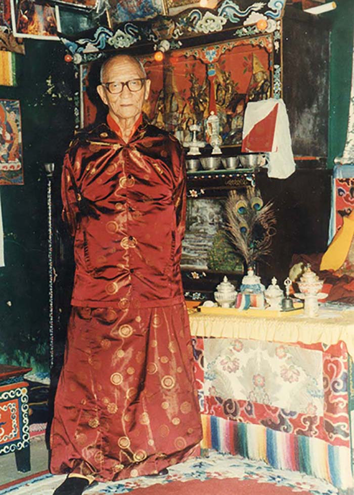 Another picture of Choyang Kuten Lama (click to enlarge)