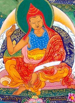 The great Indian scholar and Vajrayana master Kamalashila. Image credit: Chinese Buddhist Encyclopedia