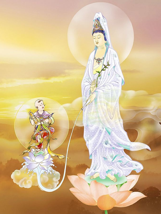 33. Water Sprinkling Guan Yin (Click to enlarge)