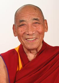 Venerable Geshe Tsultrim Gyeltsen. I was living with Geshe-la at the time, and it was Geshe-la's assistant who accidentally erased Joyce's number three times.