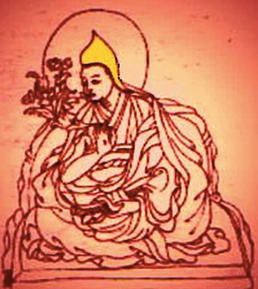 The 11th Dalai Lama Khedrup Gyatso (click to enlarge)
