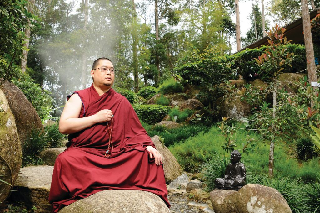 H.E. the 25th Tsem Rinpoche, the founder and spiritual guide of Kechara. Click on image to enlarge.